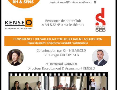 Rencontre du Club RH & SENS – 24 mai 2019