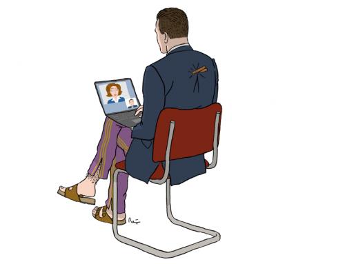 5 conseils pour un entretien en visio-conférence